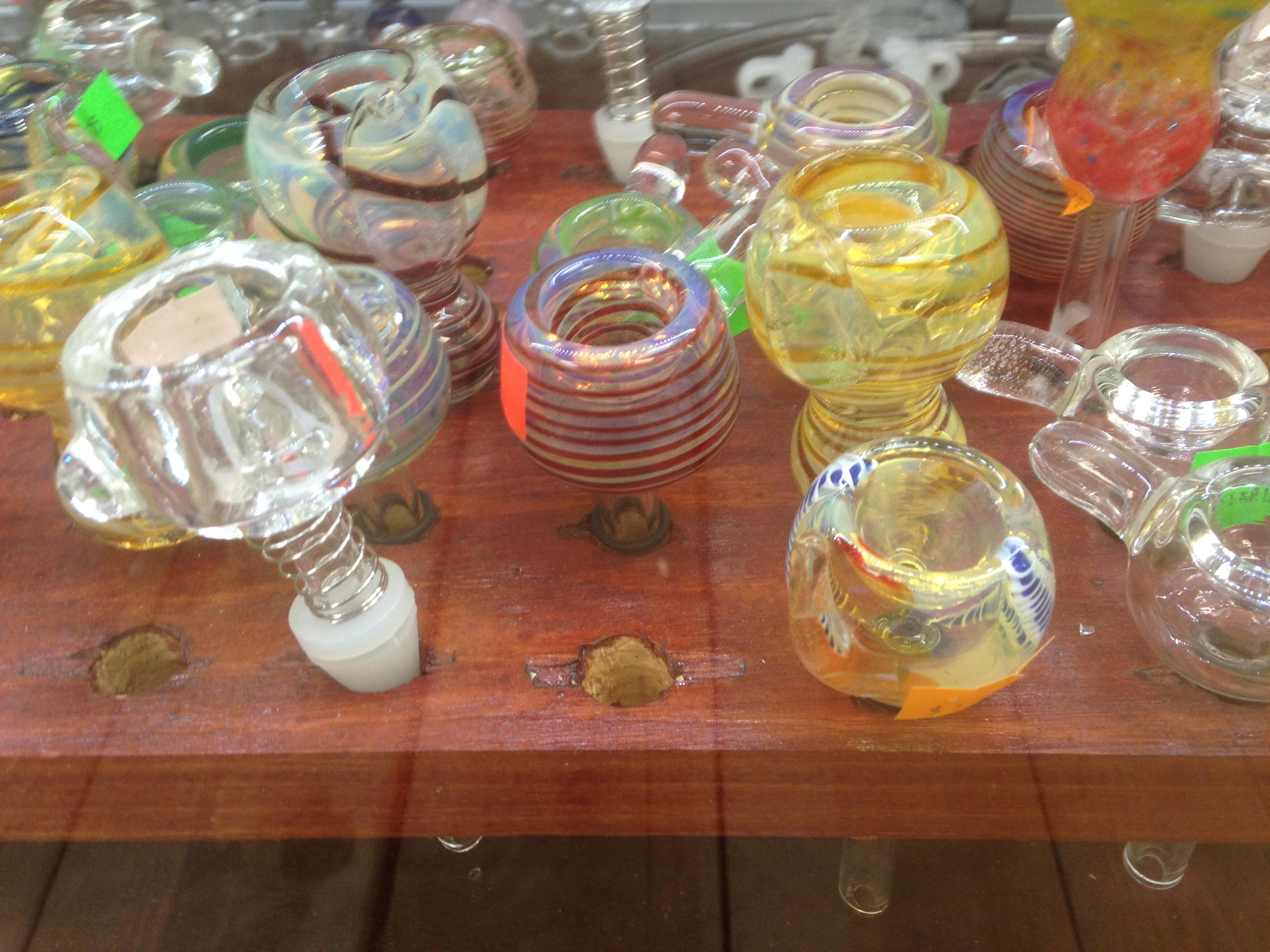 Bowls Slides Handblown Glass San Diego Smoke Shop San